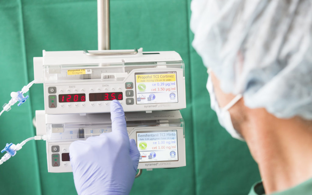 TCI Target Controlled Infusion
